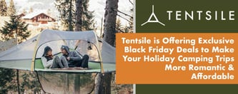 Tentsile's Black Friday Deals Make Camping Trips More Romantic