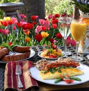Photo of Gramercy's breakfast