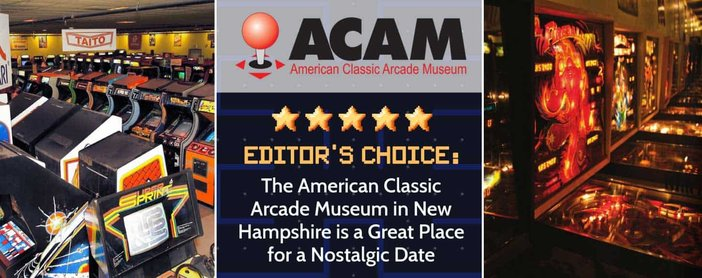 Editor's Choice: The American Classic Arcade Museum in New Hampshire is a Great Place for a Nostalgic Date