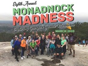 Monadnock Madness logo and photo