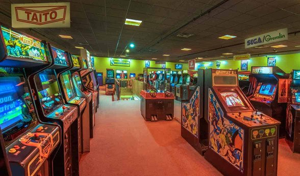 Photo of ACAM game collection