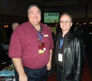 Photo of ACAM Vice President Mike Stulir and Jonathan Hurd