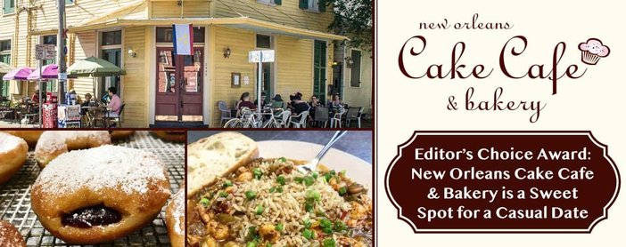Editor's Choice Award: New Orleans Cake Café & Bakery is a Sweet Spot for a Casual Date