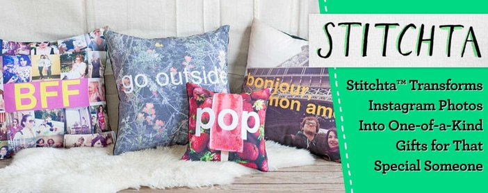 Stitchta™ Transforms Instagram Photos Into One-of-a-Kind Gifts for That Special Someone