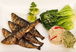 Photo of grilled sardines