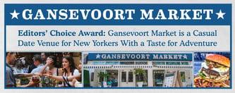Gansevoort Market is a Casual Date Venue in New York City
