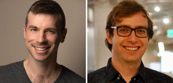 Photo of WeCroak Co-Founders Hansa Bergwall and Ian Thomas