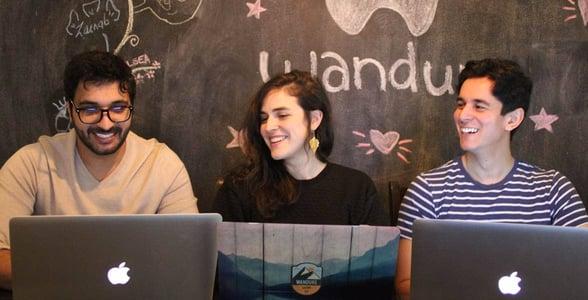 Photo of the Wandure team