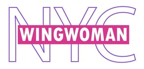 The NYC Wingwoman logo