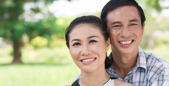 Photo of an Asian couple