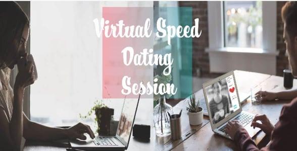 Screenshot of virtual speed dating