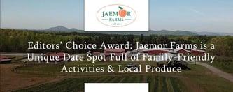Jaemor Farms is a Unique Date Spot