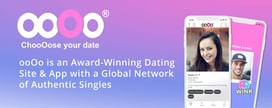 ooOo is an Award-Winning Dating Site & App