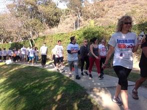 Photo of Autoimmune Walk participants
