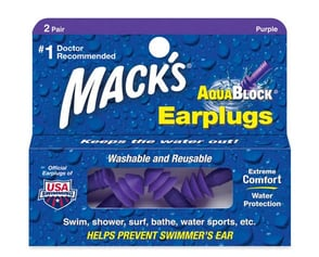 Photo of Mack's Aqua Block Earplugs