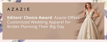Azazie Offers Beautiful, Customized Wedding Apparel
