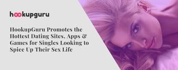 HookupGuru Promotes Dating Sites, Apps & Games