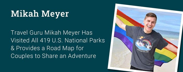 Travel Guru Mikah Meyer Urges Couples To Share Adventure