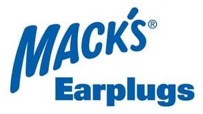 The Mack's Earplugs logo