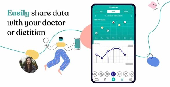 Screenshot of the CARA Care app