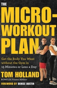 """Cover of """"The Micro-Workout Plan"""""""