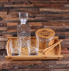 Photo of a drinking set