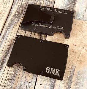 Photo of a minimalist wallet