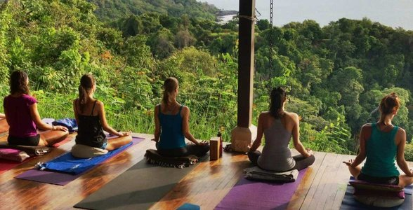 Photo of yoga at Anamaya Resort