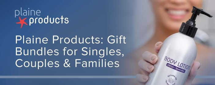 Plaine Products Gift Bundles For Singles Couples And Families