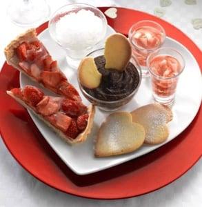 Photo of a dessert platter