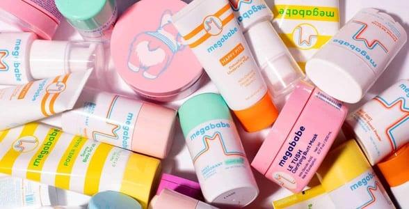 Photo of Megababe products