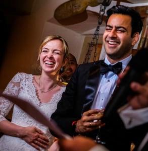 Wedding photo by Rocio Vega
