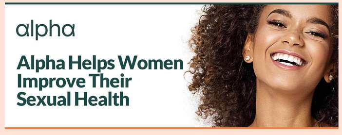 Alpha Helps Single Women Improve Sexual Health