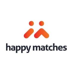 The HappyMatches logo