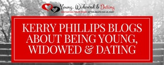 Kerry Phillips Blogs About Being Young, Widowed & Dating
