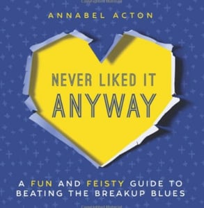 "Cover of the ""Never Liked It Anyway"" book"