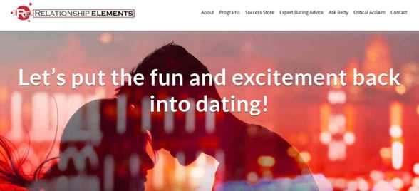 Screenshot of Relationship Elements