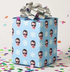 Photo of Gift Wrap My Face wrapping paper