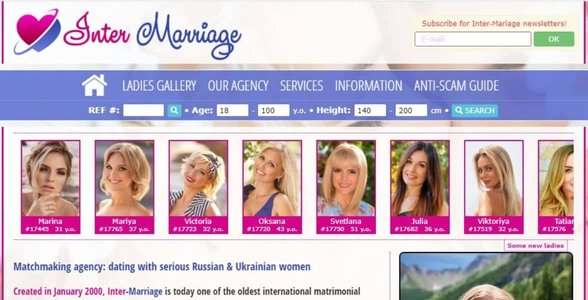 Screenshot of Inter-Marriage