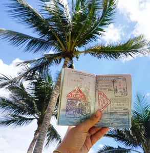 Photo of Lola's passport