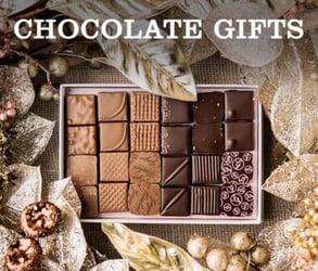 Photo of a chocolate gift box