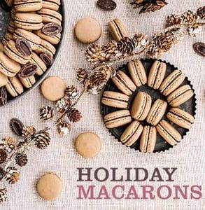 Photo of holiday macarons