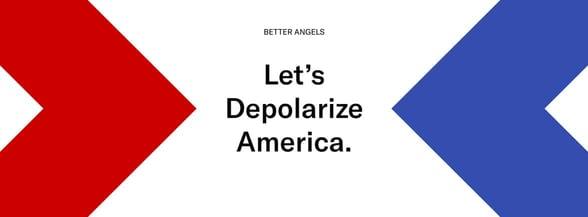Braver Angels depolarization banner