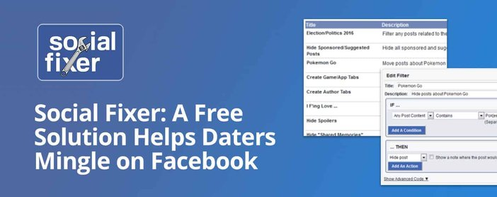 Social Fixer Offers A Solution To Save Daters Time On Facebook