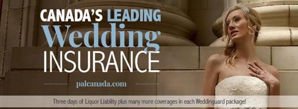 Screenshot of PAL Insurance Brokers wedding insurance banner