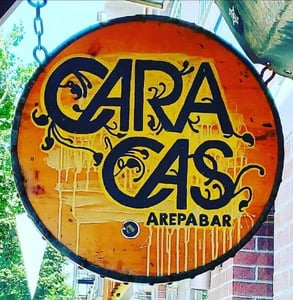 The Caracas Arepa Bar logo