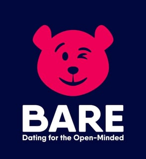 The BARE Dating app logo