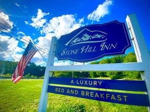 Photo of Stone Hill Inn sign