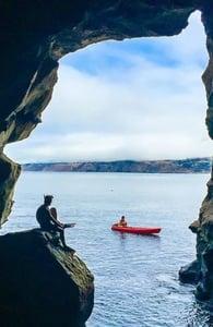 Photo of the Sunny Jim Sea Cave