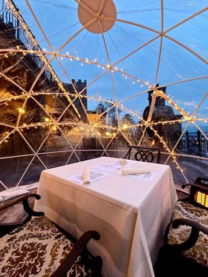 Photo of an igloo at The Inn at Erlowest